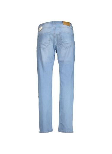 Collezione Açık Mavi Erkek Pantolon Mavi